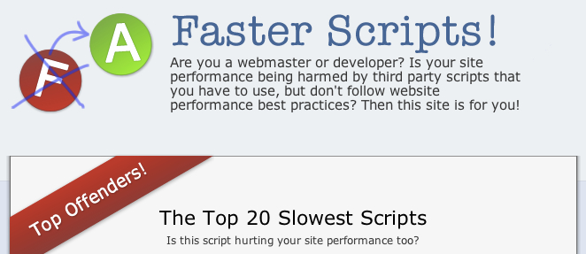 FasterScripts.com home page