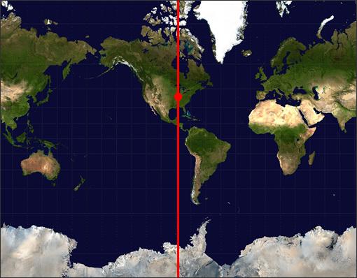 Programming contest sample world map